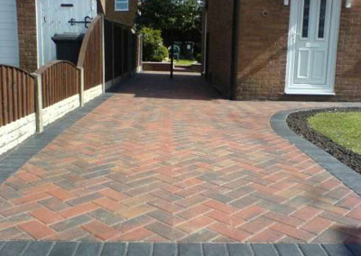 sapecialists in the block paving of driveways in runcorn