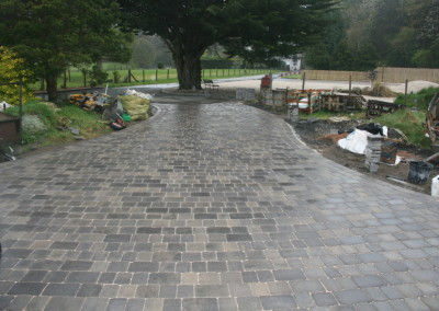 INSTALALTION OF BLOCK PAVING IN RUNCORN