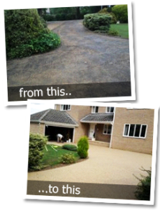 specialist installers of resin driveways in halton