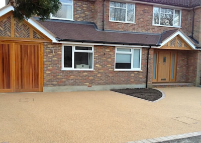 finished project showing one of our resin driveways in runcorn