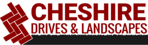 CHESHIRE DRIVES & LANDSCAPE SERVICES LOGO
